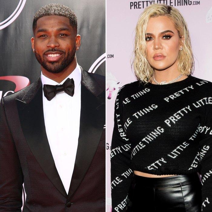 Tristan Thompson Leaves Comment on Khloe Kardashian's Post Following Their Split