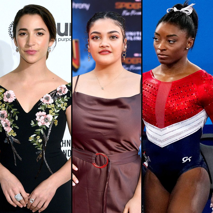 Aly Raisman Laurie Hernandez and More React Simone Biles Withdrawing From Tokyo Olympics Gymnastics Final