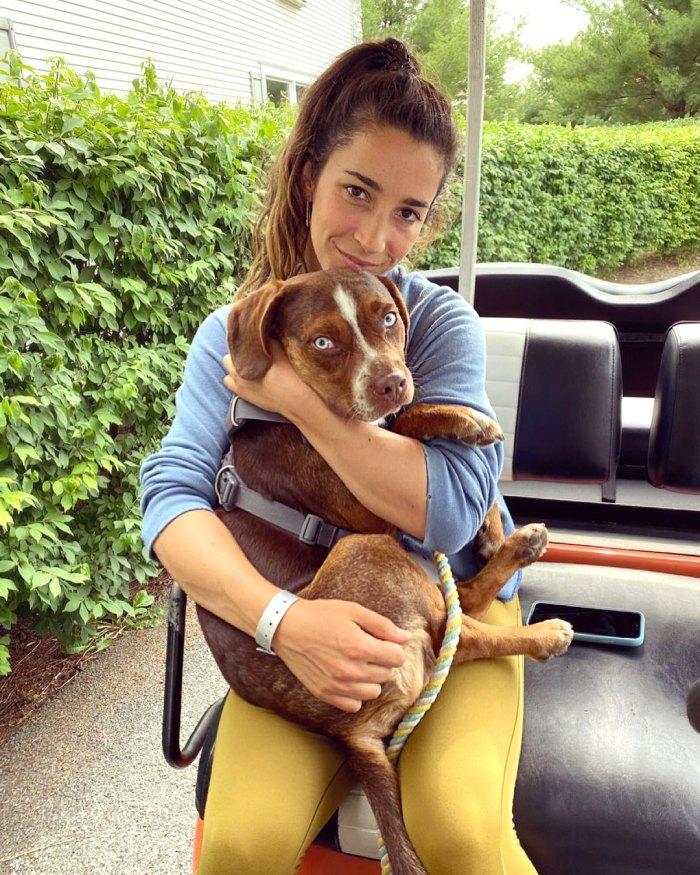 El perro de Aly Raisman fue encontrado a salvo después de su desaparición el 4 de julio: foto