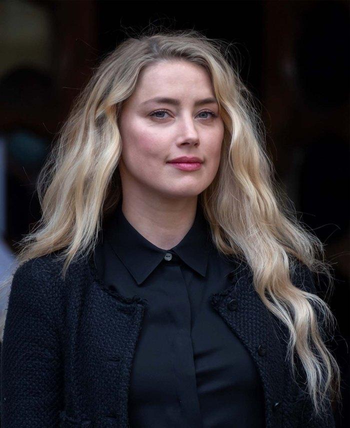 Amber Heard da la bienvenida en secreto a su primer hijo a través de un sustituto