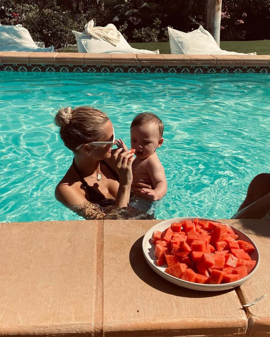 Ashlee Simpson Evan Ross Family Moments