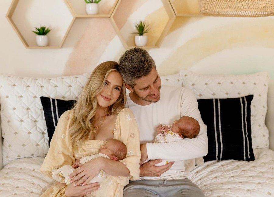 Bachelor's Arie Luyendyk Jr. and Lauren Burnham Show Twins' 'Dream' Nursery