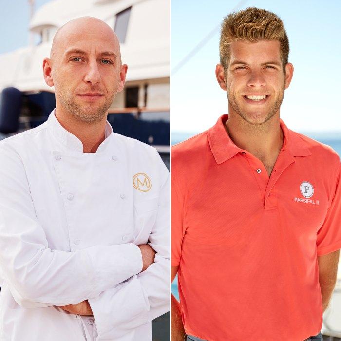 'Below Deck Mediterranean' Chef Mathew Shea Tells Jean-Luc Cerza Lanaux to 'Man Up' Over Paternity