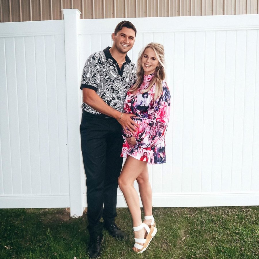 Big Brother Pregnant Nicole Franzel and Victor Arroyo Reveal Son Nursery 11