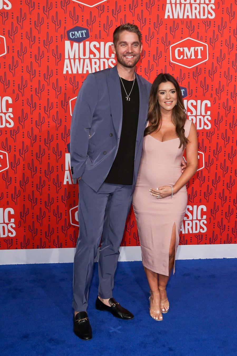 Brett Young and Taylor Young