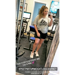 Brittany Cartwright Hits the Gym Amid 'Postpartum Weight Loss Journey': Time to 'Sweat'