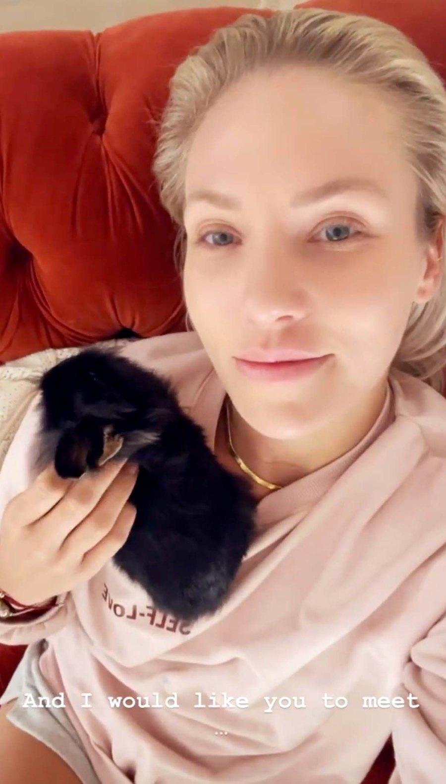 Bunny Love Sharna Burgess Brian Austin Green Have New Pet