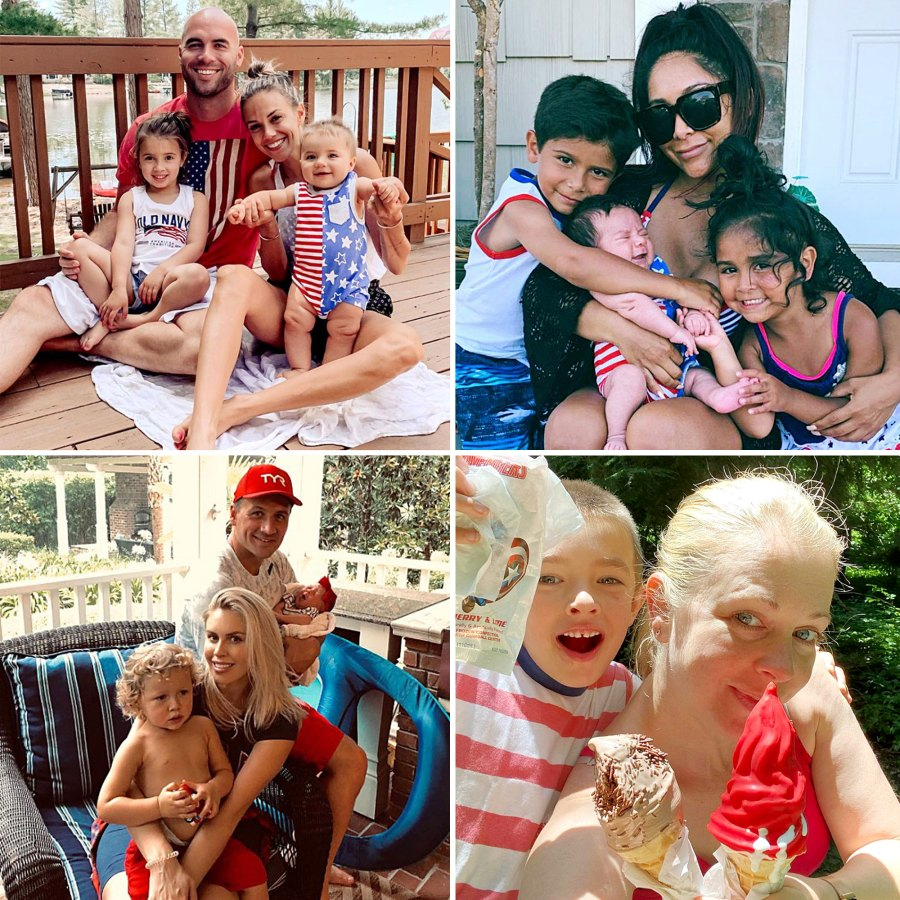 Celebrity Kids Get Patriotic 4th of July Over Years Photos