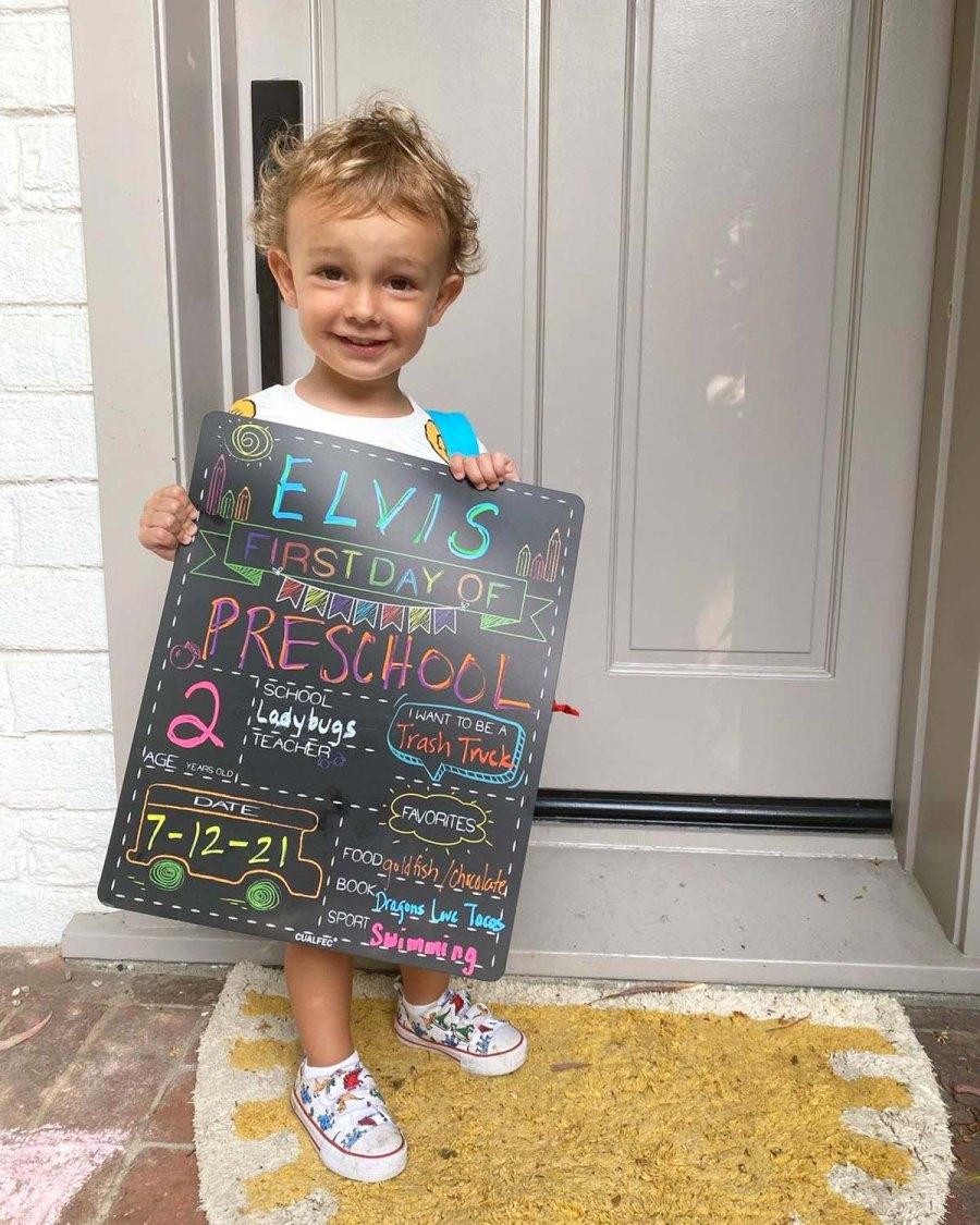 Celebrity Parents Share Their Kids 2021 Back School Photos