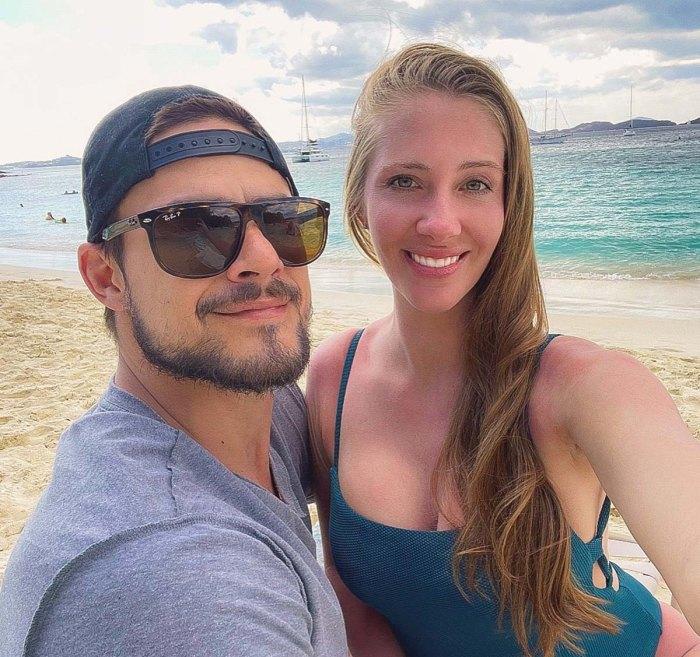 Desafíos Jenna Compono Zach Nichols le da la bienvenida a su primer hijo