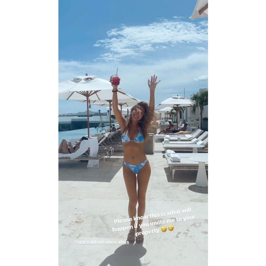 Chrishell Stause Dancing in a Bikini to Megan Thee Stallion