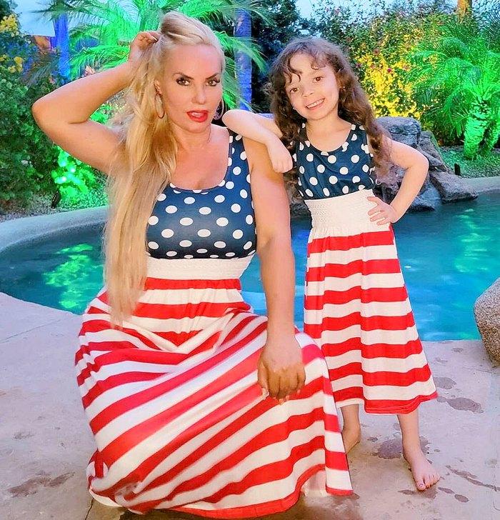 Coco Austin defiende a Chanel, hija de 5 años que amamanta