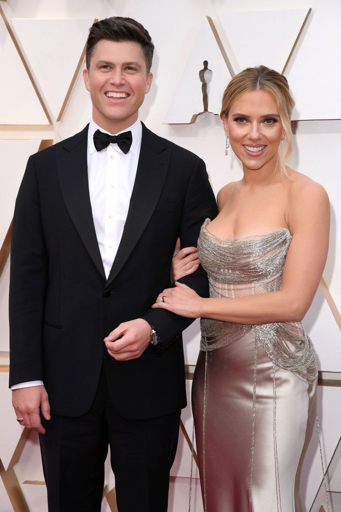 Colin Jost and Scarlett Johansson Jokes About Daughter Rose