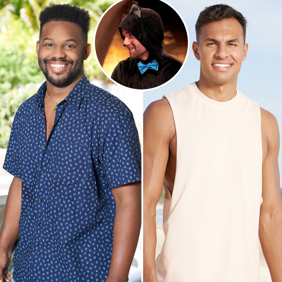 Connor B Tre Aaron Cat Costumes Romance Island Tension Tease Their Bachelor Paradise Journeys