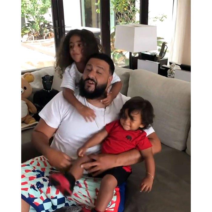 DJ Khaled no quiere que sus hijos vean sus videos musicales