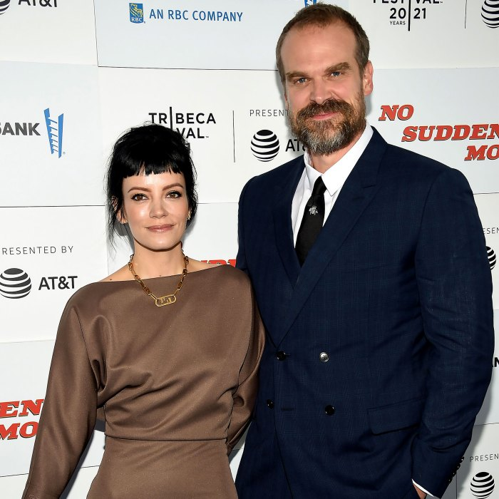 David Harbour Reveals Lily Allen's 'Mixed Feelings' About His Slimdown Post-'Black Widow'
