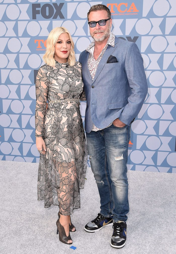 Dean McDermott Claps Back at Fans Asking Why He Didn't Take Tori Spelling to Baseball Game