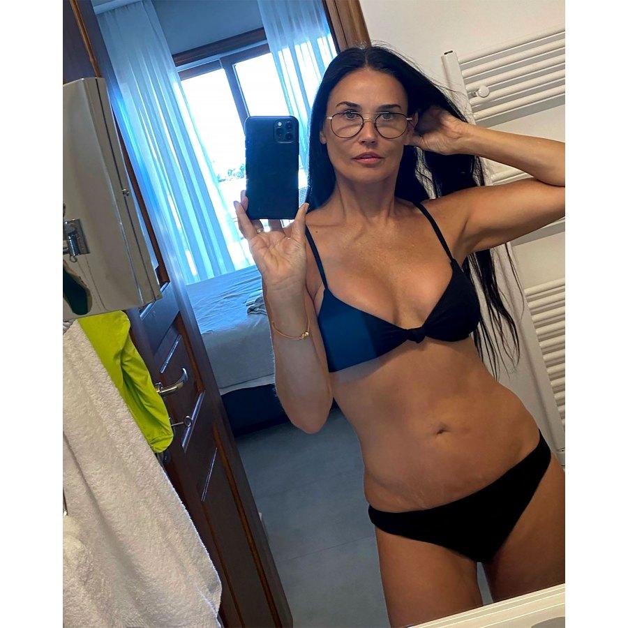 Demi Moore, 58, Looks Unbelievable in Itty-Bitty Bathing Suit