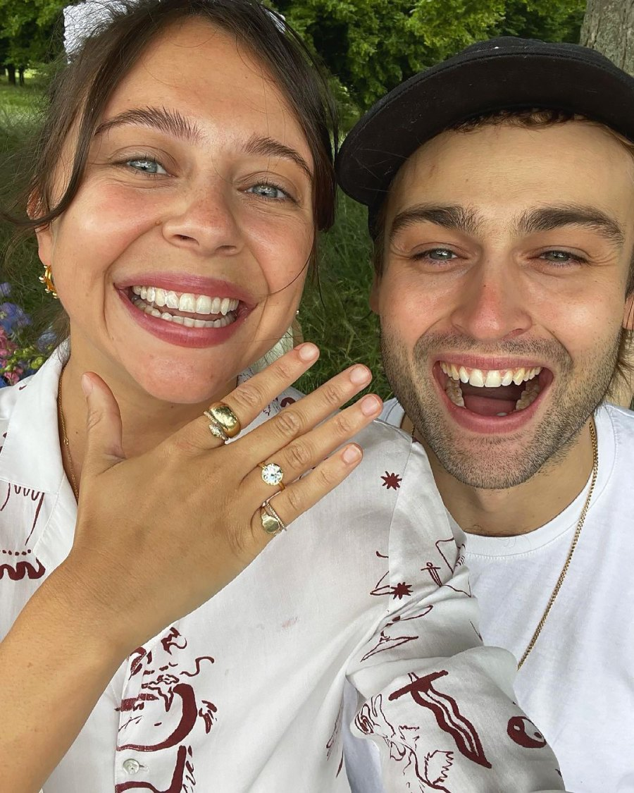 Douglas Booth Proposed to Bel Powley Over a London Picnic