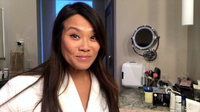Dr Pimple Popper Sandra Lee Rutina de cuidado de la piel durante la noche