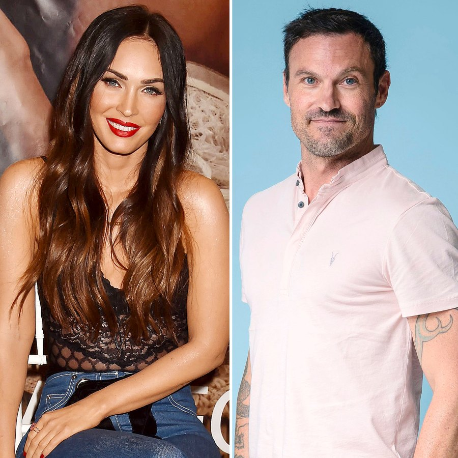 Everything Megan Fox Brian Austin Green Have Said About Each Others Significant Others