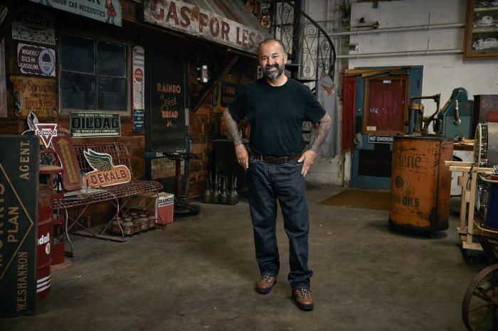 Frank Fritz Exits American Pickers