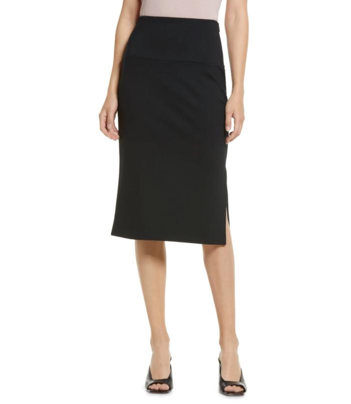 Halogen-Knit-Pencil-Skirt