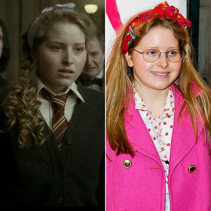 Jessie Cave de Harry Potter afirma que fue 'tratada como una especie diferente' en el set después de subir de peso