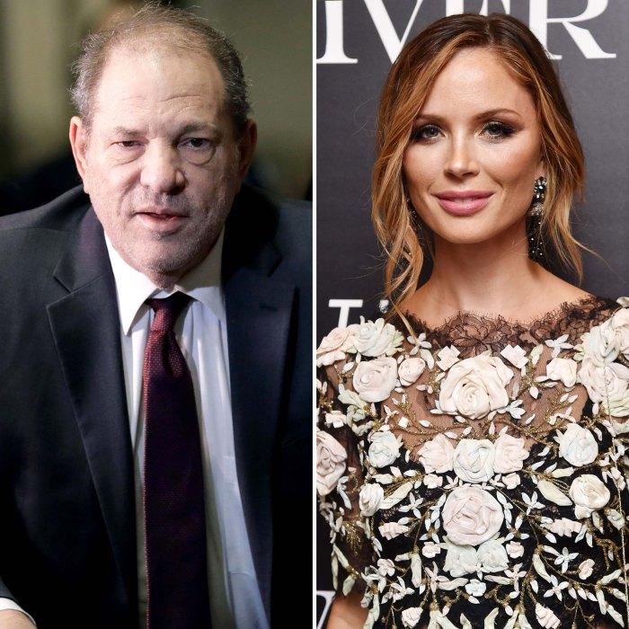 Harvey Weinstein Georgina Chapman Finalize Divorce