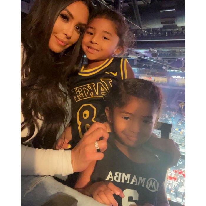 Cómo las hijas de Vanessa Bryant honraron a Kobe y Gigi en el Juego de Estrellas de la WNBA