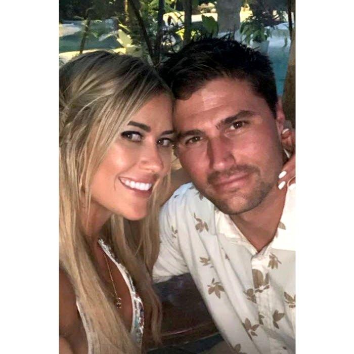 Dentro de Christina Haack, el novio Joshua Hall, primer encuentro cuando se volvieron a conectar