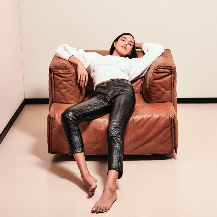 Irina Shayk Models This Season's Coolest Denim Trend: Photos