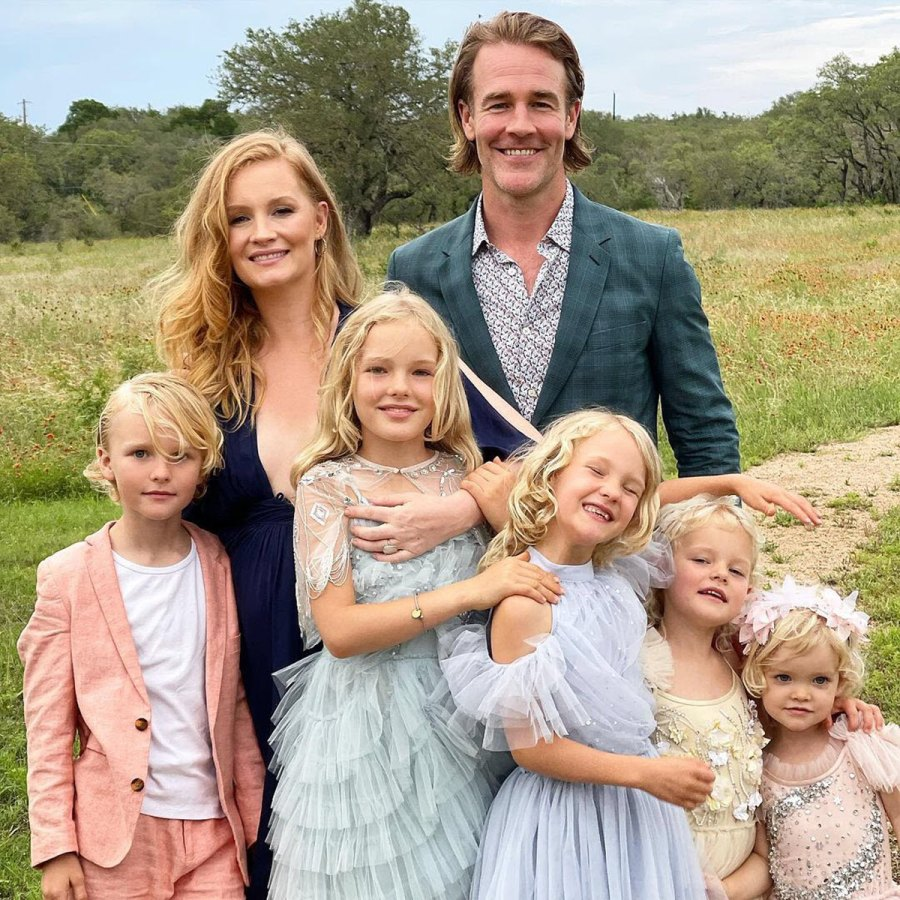 All Dressed Up James Van Der Beek Sweetest Moments With His Family