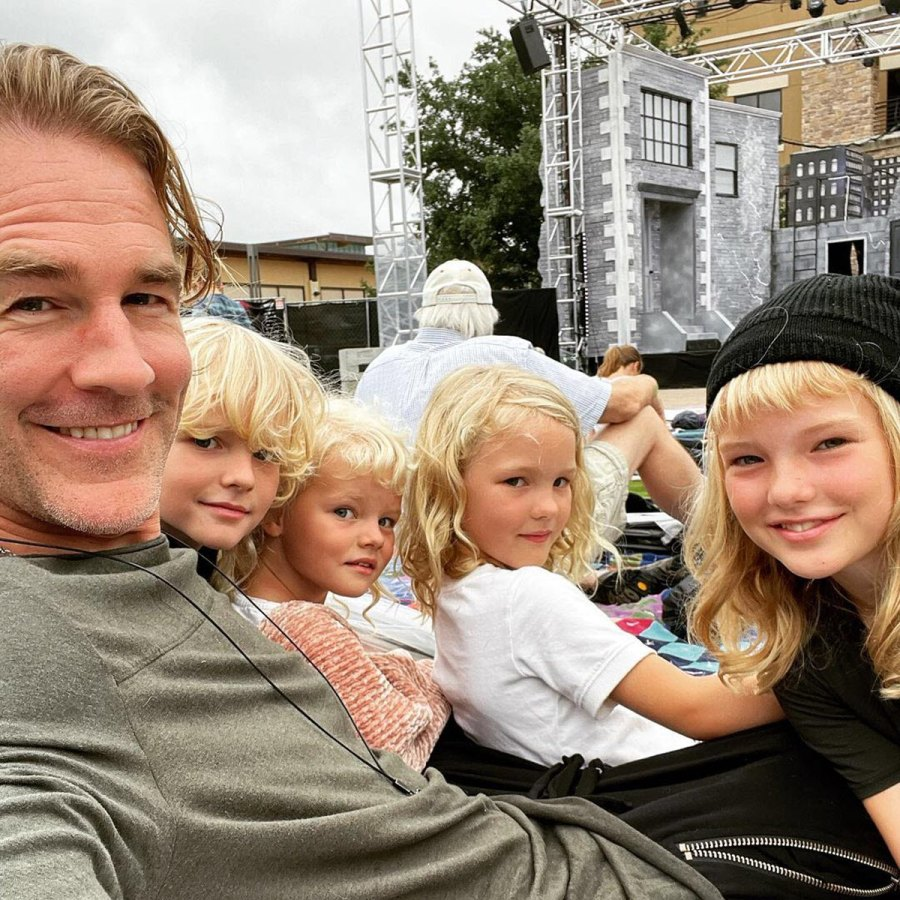 Play Time James Van Der Beek Sweetest Moments With His Family