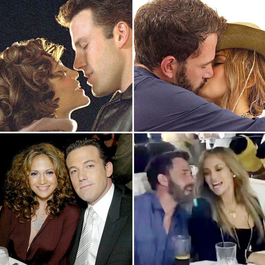Jennifer Lopez Ben Affleck Couple Style Then Now