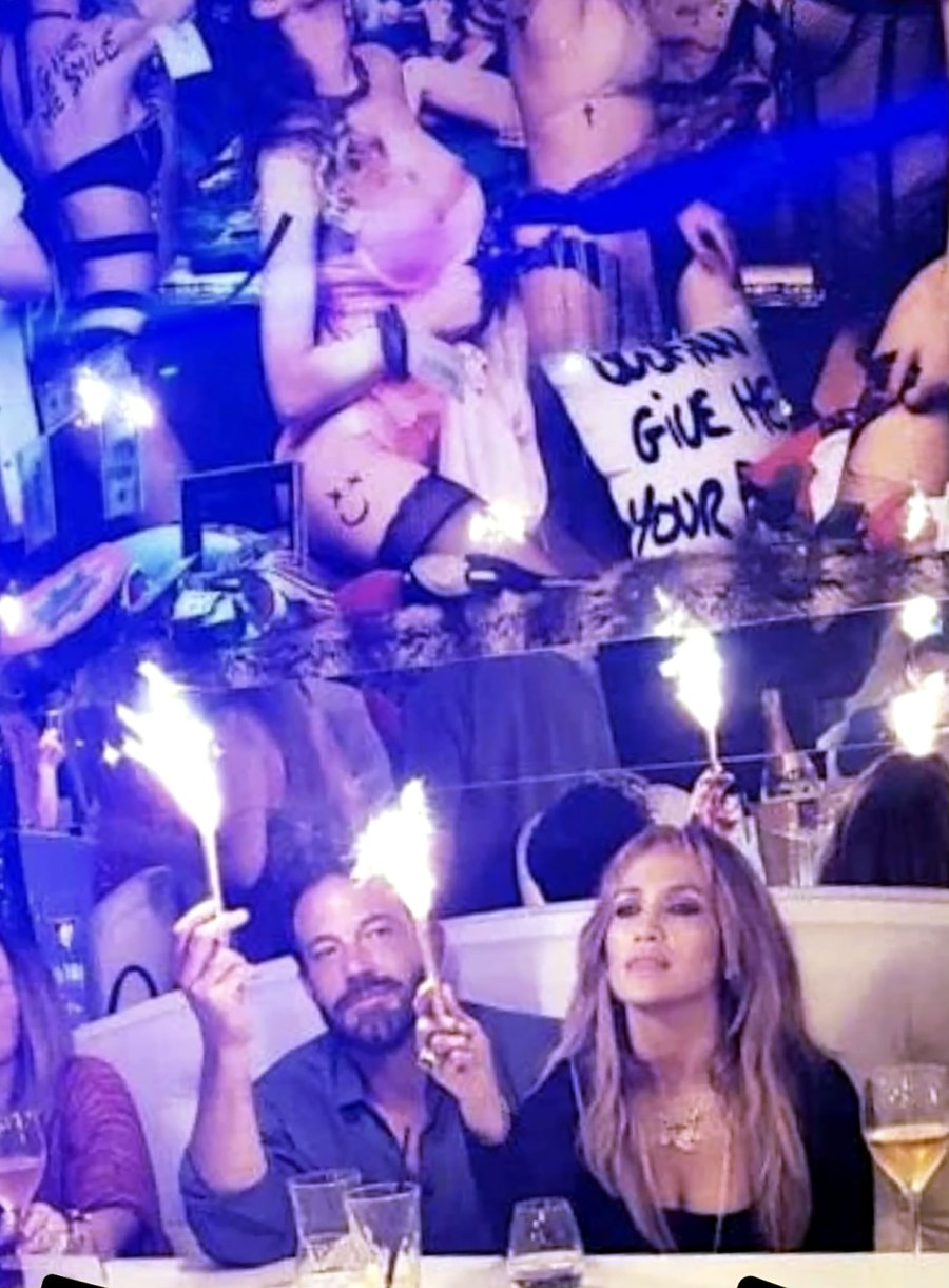 Jennifer Lopez Rings in Birthday With Ben Affleck 5