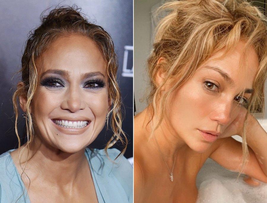 Jennifer Lopez's Skin Looks Next-Level Gorgeous in Makeup-Free Selfie