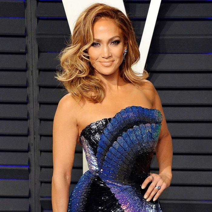 Jennifer Lopez Steps Out With BEN Diamond Necklace After Birthday