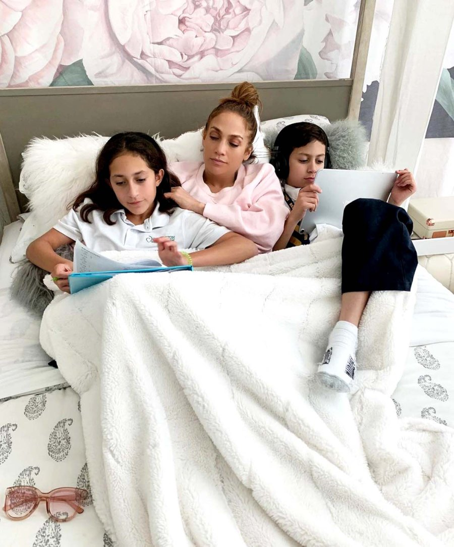Jennifer Lopezs Best Moments With Twins Emme Maximilian Over Years