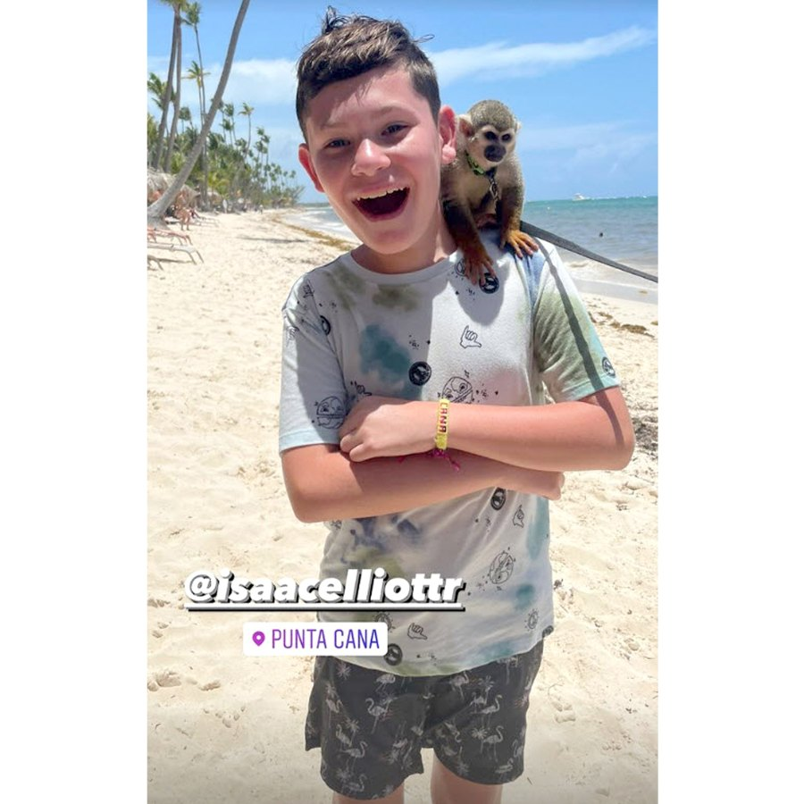 Monkeying Around Teen Mom 2 Kailyn Lowry Takes Dominican Republic Vacation With 4 Sons