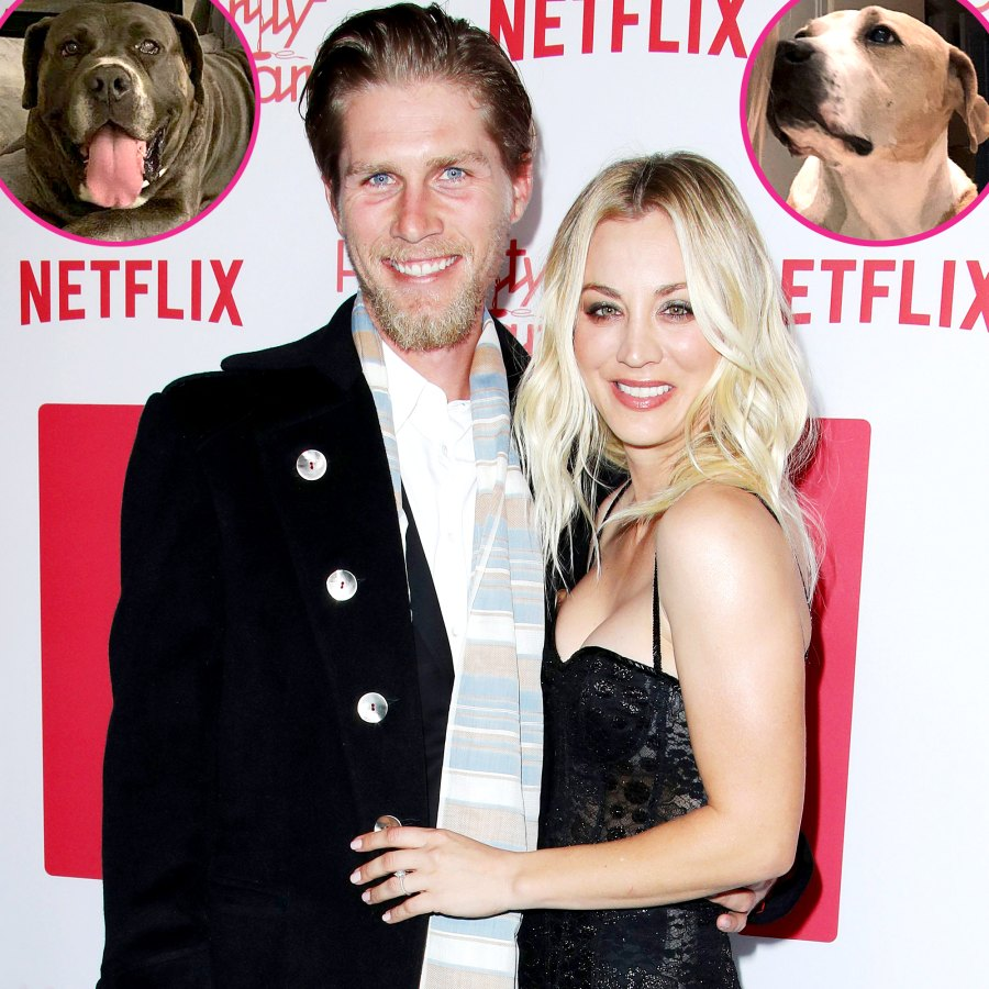 Kaley Cuoco Karl Cook Adopts New Dog Larry 5 Months After Pup Norman Death