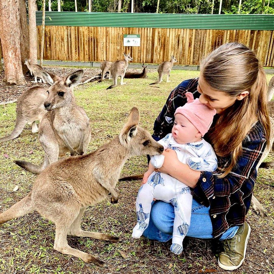 Kangaroo Cutie! Bindi Irwin's Daughter Grace Meets More Zoo Animals