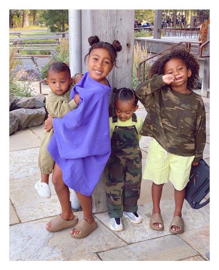 Kanye West Returns to Instagram With Sweet Tribute His Kids