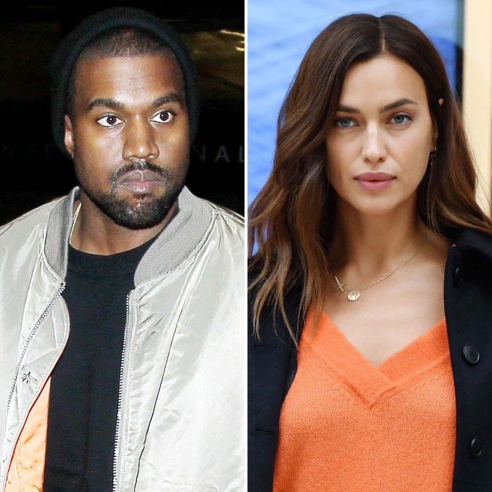 Kanye West Spends Time With Friends After Irina Shayk Romance Cools Off