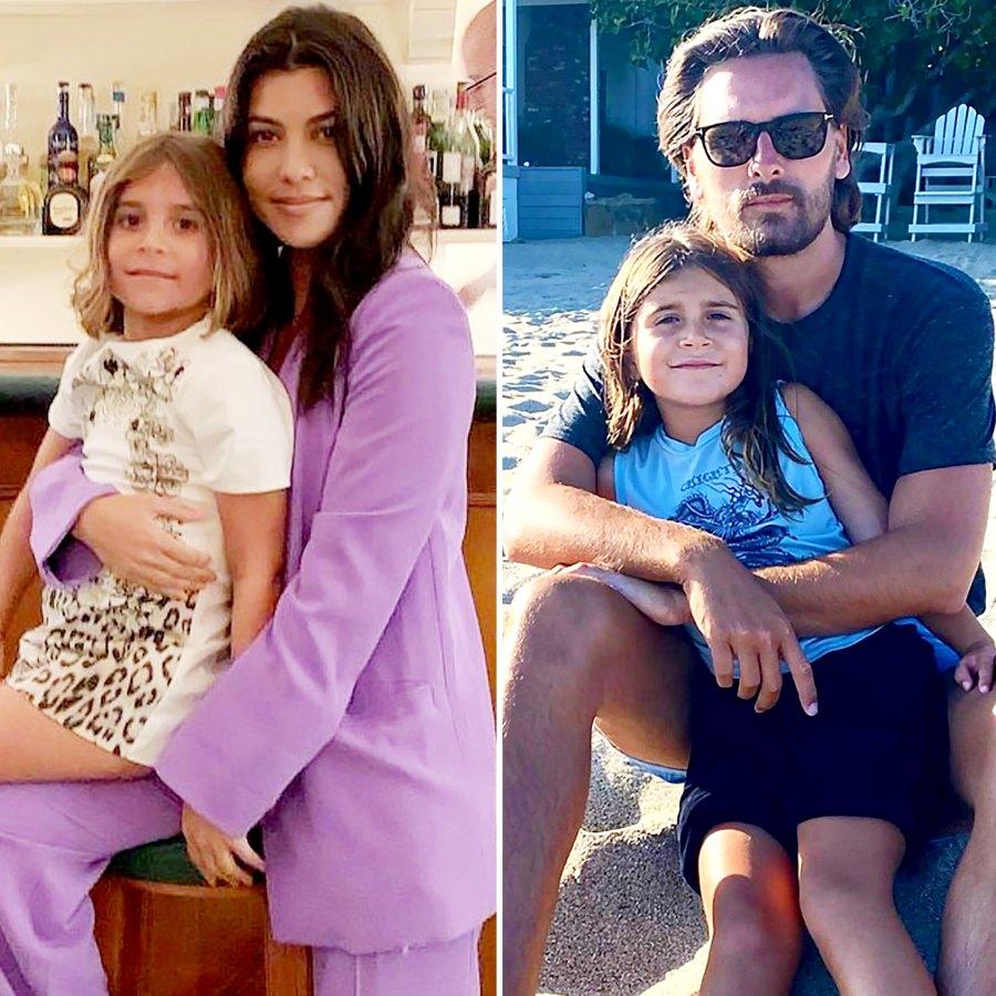 Kardashian Family Wishes Kourtney Kardashian Scott Disick Daughter Penelope Happy 9th Birthday