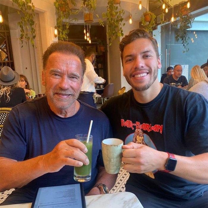 Katherine Schwarzenegger, Joseph Baena Wish Dad Arnold Schwarzenegger Happy Birthday 2