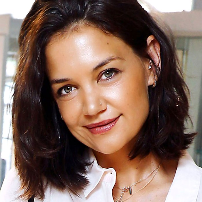 Katie Holmes Just Made a Case for the Return of the Nose Ring