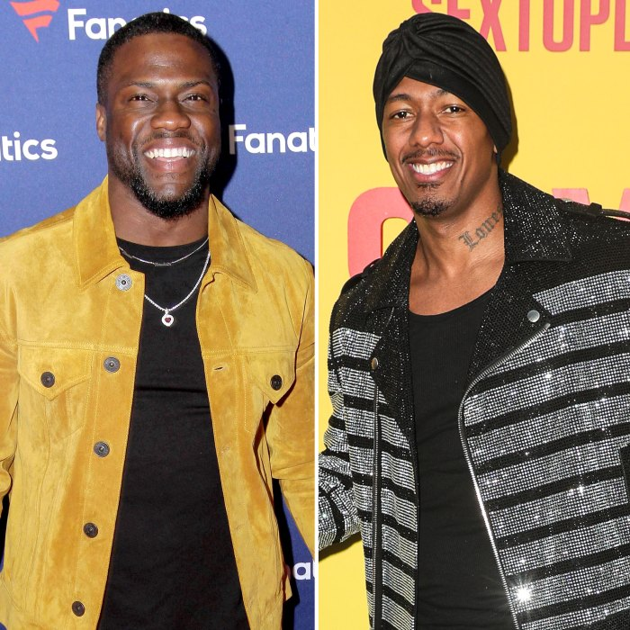 Kevin Hart Trolls Nick Cannon After His 7th Child Arrival With Fatherhood Billboard