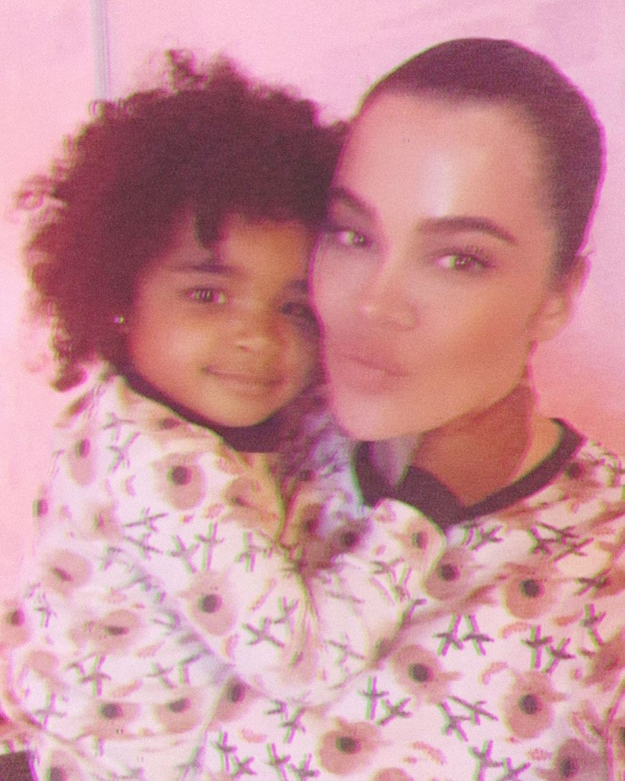 Khloe Kardashian Her Daughter True Adorable Matching Moments Over Years