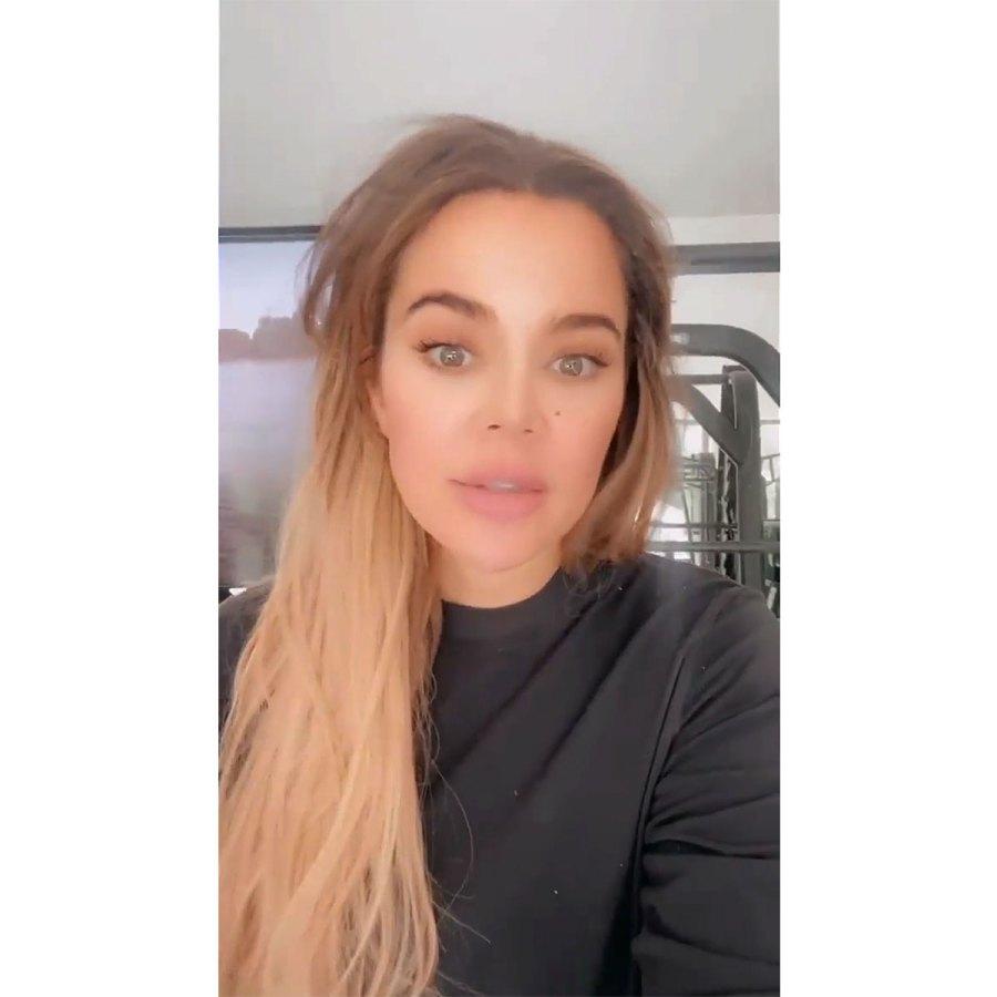 Khloe Kardashian Is Using Workouts Therapy After Tristan Thompson Split 2